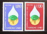 Poštovní známky OSN Ženeva 1977 Konference o vodě Mi# 64-65