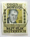 Poštovní známka Rakousko 1988 Odon von Horváth, dramatik Mi# 1926