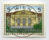 Poštovní známka Rakousko 1988 Vídeňská koncertní hala Mi# 1937
