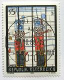 Poštovní známka Rakousko 1988 Moderní umění Mi# 1938