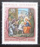 Poštovní známka Rakousko 1988 Vánoce Mi# 1943