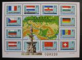 Poštovní známka Maďarsko 1977 Vodní trasa po Dunaji Mi# Block 128
