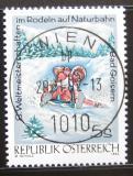 Poštovní známka Rakousko 1992 MS v jízdě na saních Mi# 2050