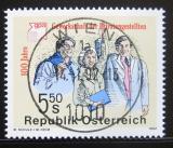 Poštovní známka Rakousko 1992 Uředníci privátního sektoru Mi# 2049