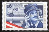 Poštovní známka Rakousko 1995 Poštovní úředník Mi# 2173