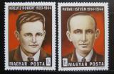 Poštovní známky Maďarsko 1974 Bojovníci proti fašismu Mi# 3005-06