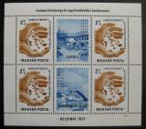 Poštovní známky Maďarsko 1973 Helsinská konference Mi# Block 99