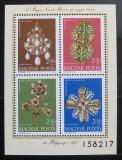 Poštovní známky Maďarsko 1973 Národní poklady Mi# Block 100
