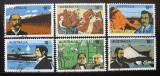 Poštovní známky Austrálie 1976 Průzkumníci Mi# 599-604