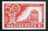 Poštovní známka Maďarsko 1972 Dieselová lokomotiva Mi# 2803