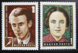 Poštovní známky Maďarsko 1972 Slavní Maďaři Mi# 2815-16