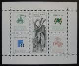 Poštovní známky Maďarsko 1988 Mezinárodní výstavy Mi# Block 197