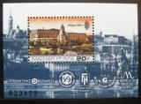 Poštovní známka Maďarsko 1984 Hotel Hilton Mi# Block 174