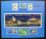 Poštovní známka Maďarsko 1982 Budapešť Mi# Block 159
