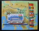 Poštovní známky Maďarsko 1981 Plavba po Dunaji Mi# Block 153