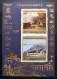 Poštovní známky Maďarsko 1976 Umění, Loty a Halápi Mi# Block 117