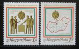 Poštovní známky Maďarsko 1975 Volební systém Mi# 3068-69