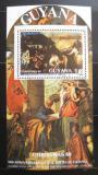 Poštovní známka Guyana 1988 Umění, Tizian Mi# Block 28 Kat 9€