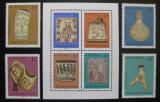 Poštovní známky Maďarsko 1969 Maďarské řezbářství Mi# 2528-31 + Block 73