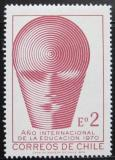 Poštovní známka Chile 1970 Rok vzdělání Mi# 734