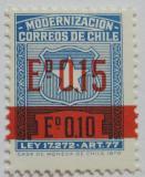 Poštovní známka Chile 1971 Modernizace, pošt. daně Mi# 5 II