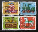 Poštovní známky Švýcarsko 1983 Antické hračky Mi# 1260-63