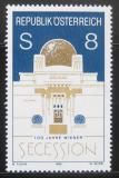 Poštovní známka Rakousko 1998 Vídeňská secese Mi# 2247