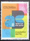 Poštovní známka Kolumbie 1970 Výstava umění Mi# 1167