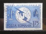 Poštovní známka Rumunsko 1965 ITU, 100. výročí Mi# 2402