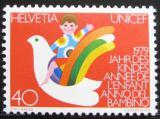 Poštovní známka Švýcarsko 1979 Mezinárodní rok dětí Mi# 1162