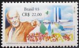 Poštovní známky Brazílie 1993 Ulysses Guimaraes Mi# 2546