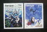 Poštovní známky Faerské ostrovy 1997 Legendy Mi# 317-18