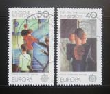 Poštovní známky Německo 1975 Evropa CEPT, umění Mi# 840-41
