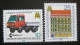 Poštovní známky DDR 1978 Veletrh v Lipsku Mi# 2353-54