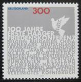 Poštovní známka Německo 1999 První mírová konference Mi# 2066