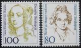 Poštovní známky Německo 1994 Slavné ženy Mi# 1755-56