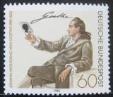 Poštovní známka Německo 1982 Johann Wolfgang Goethe Mi# 1121