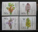 Poštovní známky Německo 1984 Orchideje Mi# 1225-28