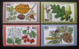 Poštovní známky Německo 1979 Lesní rostliny Mi# 1024-27