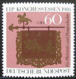 Poštovní známka Německo 1980 Kongres FIP Mi# 1065