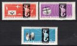 Poštovní známky Maďarsko 1961 Poštovní kongres Mi# 1762-64