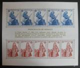 Poštovní známky Monako 1985 Evropa CEPT Mi# Block 28 Kat 15€