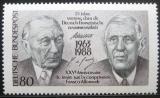 Poštovní známka Německo 1988 Franc.-něm. spolupráce Mi# 1351