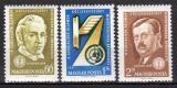 Poštovní známky Maďarsko 1961 Dopravní konference Mi# 1769-71