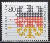 Poštovní známka Německo 1987 Sčítání lidu Mi# 1309