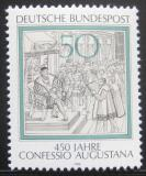 Poštovní známka Německo 1980 Augšpurské vyznání Mi# 1051