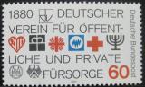 Poštovní známka Německo 1980 Sociální blahobyt Mi# 1044
