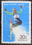 Poštovní známka Austrálie 1984 Akrobacie na lyžích Mi# 875