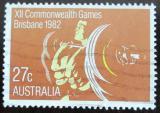 Poštovní známka Austrálie 1982 Vzpírání Mi# 807