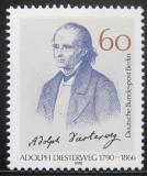 Poštovní známka Západní Berlín 1990 Adolph Diesterweg, vychovatel Mi# 879